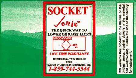 Socket Jenie Sockets | Custom Cylinders International Inc